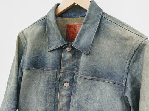 レザージャケットの花小金井衣類