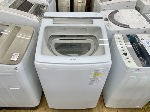 AQUA/アクアの全自動洗濯機