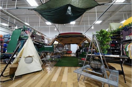 キャンプ用品のUJack