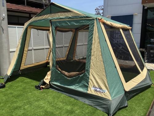 オガワキャンパルのテント