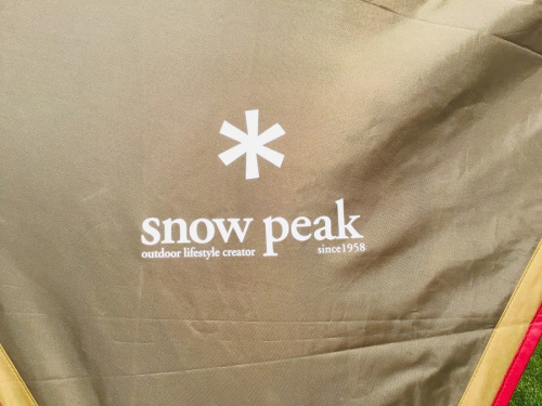 SNOWPEAKのスノーピーク