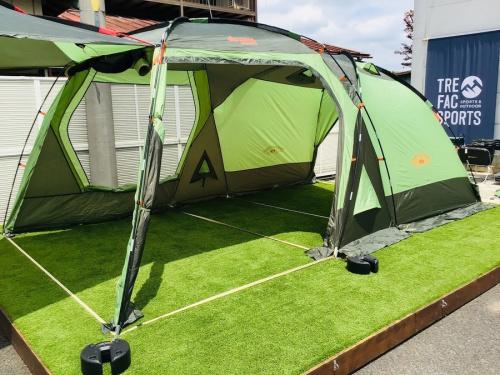 ロゴスの2ルームテント