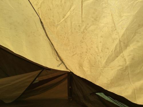 ピルツ19のテント