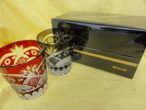 和食器の切子グラス