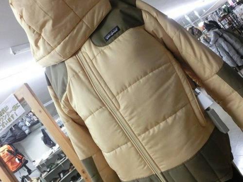 patagoniaの中綿ジャケット