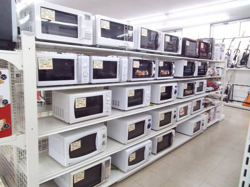 レンジの冷蔵庫