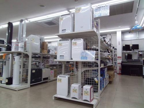 除湿機の乾燥機