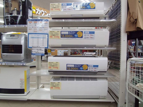 季節家電の洗濯機