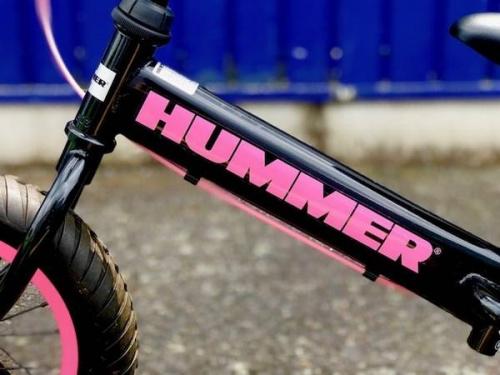 自転車のHUMMER