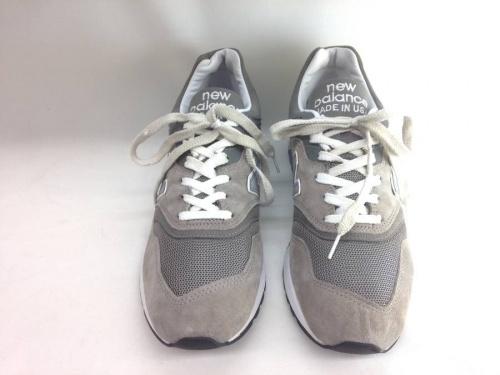 靴のニューバランス