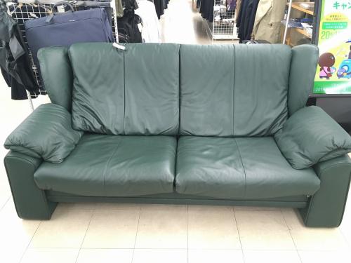 レザーのソファ