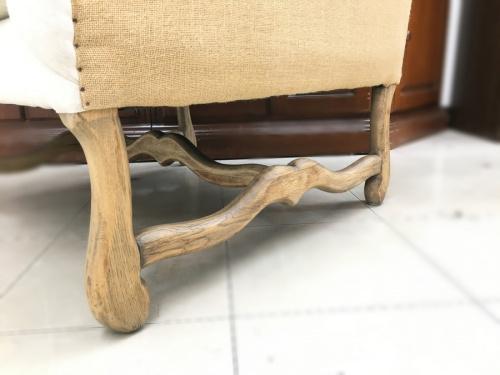 1人掛けソファーのBedford wing chair