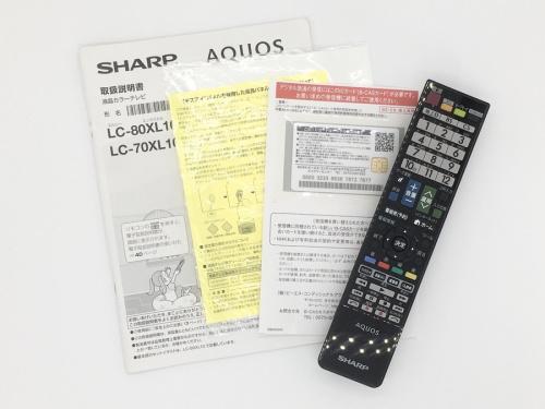 大型テレビのSHARP