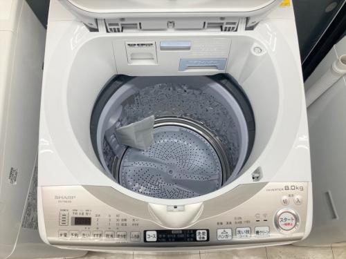 中古洗濯機のシャープ