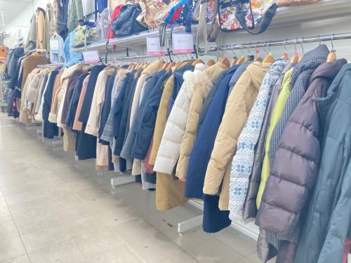 メンズファッションの冬物衣類