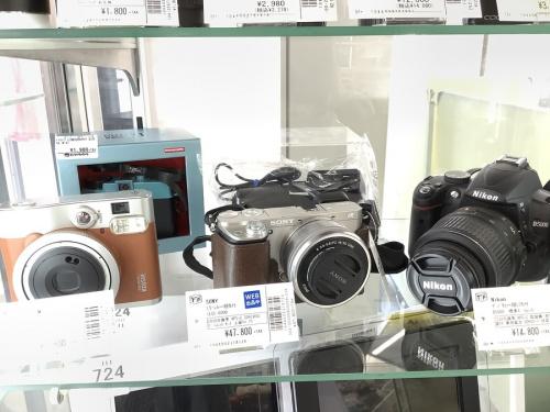 スピーカーのカメラ