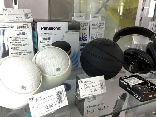 カメラのヘッドフォン