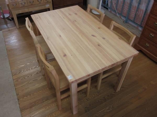 無印良品 パイン材ローテーブル 折りたたみ式