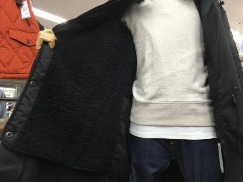 所沢メンズ衣類のモッズコート