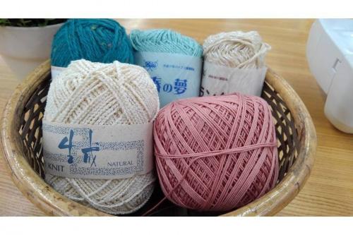 手芸の毛糸