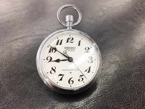 メンズファッションの懐中時計