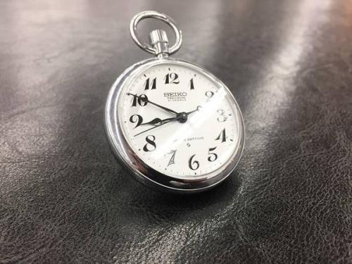 懐中時計のSEIKO