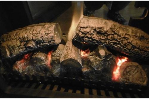 ヒーターの暖炉型