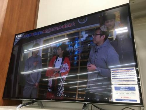 所沢中古テレビの4KLED液晶テレビ