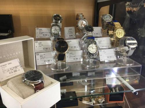 所沢 新座 ふじみ野 入間 東村山 清瀬 西東京 中古腕時計 買取の所沢腕時計