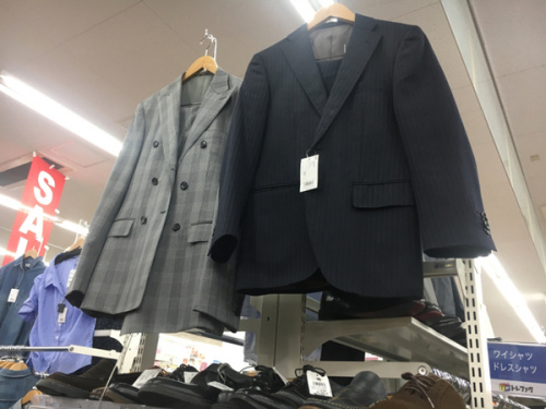 所沢のスーツ