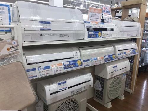 エアコンのTOSHIBA