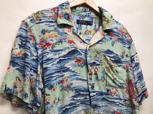 所沢店のアロハシャツ