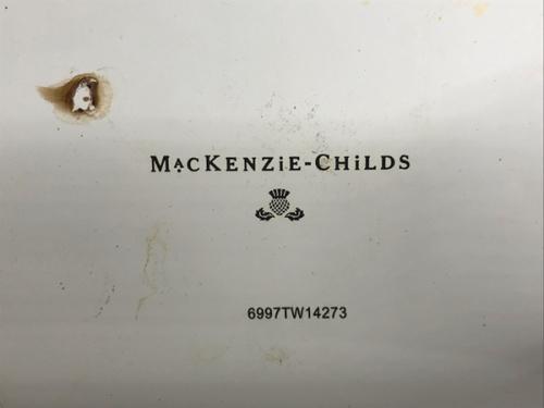 レトロ雑貨のMACKENZIE-CHILDS (マッケンジーチャイルド)