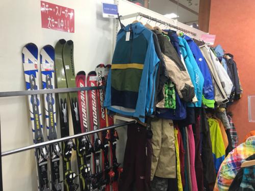 スノーボードの冬物 SALE 所沢