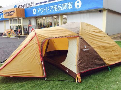 アウトドアのキャンプ用品