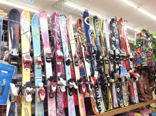 中古スキーの子供用