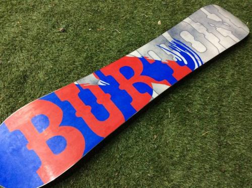 中古スノーボードのバートン