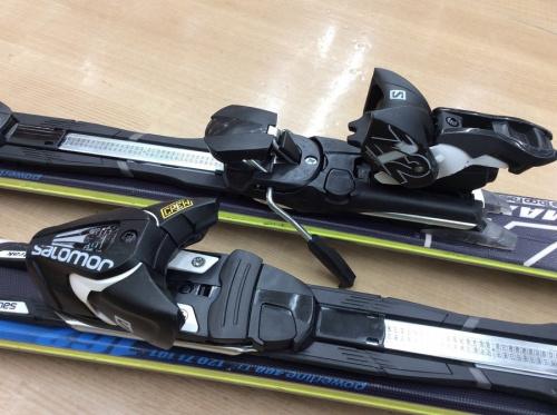 スノーボードのカービングスキー