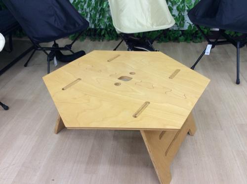ヘキサテーブルの松戸 キャンプ用品