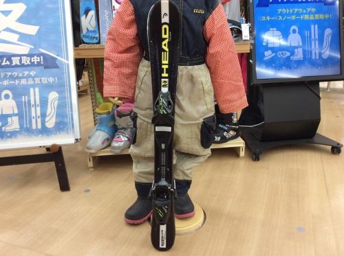キッズ スノーボードのカービングスキー