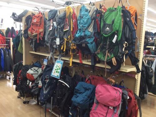 アウトドア用品の登山用品