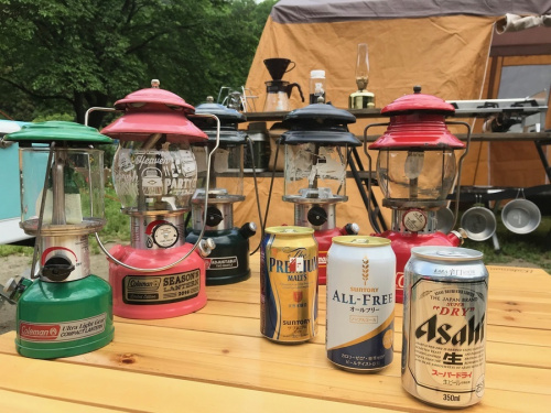 キャンプの松戸 キャンプ用品