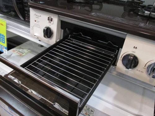 冷蔵庫のガスコンロ