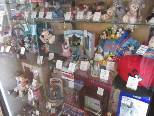Disneyの首振り人形