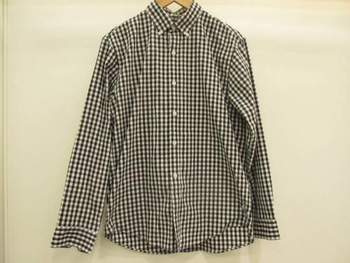 メンズファッションのチェックシャツ