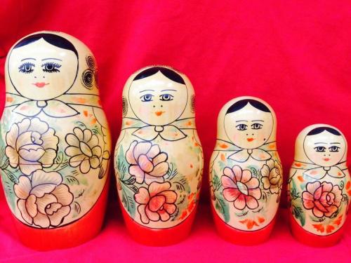 マトリョーシカのロシア民芸品