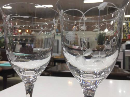 食器 買取のワイングラス