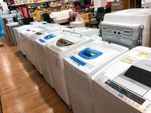 洗濯機の新生活 一人暮らし