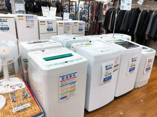 洗濯機のエアコン