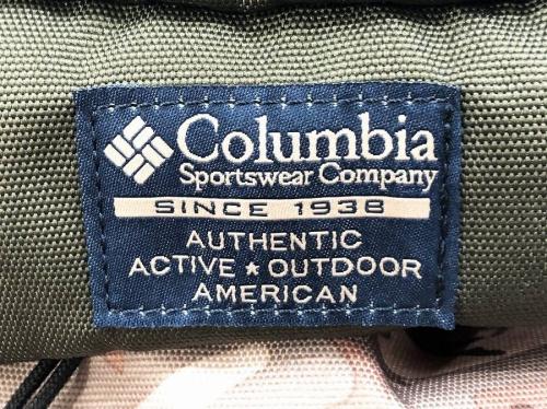 Columbiaのバッグ